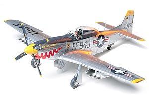 1:48 Scale Tamiya North American F-51D Mustang Korean War Plane Model Kit  #1432