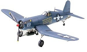 1:48 Scale Tamiya Vought G4U-1A Corsair Plane Model Kit  #1433