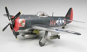 1:48 Scale Tamiya P-47M Thunderbolt Plane Model Kit  #1435p