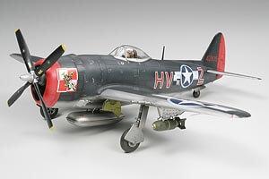 1:48 Scale Tamiya P-47M Thunderbolt Plane Model Kit  #1435p
