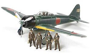 1:48 Scale Tamiya A6M3/3A Zero Zeke Plane Model Kit  #1437p
