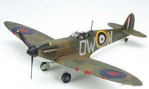 1:48 Scale Tamiya Spitfire MK 1 Plane Model Kit  #1439