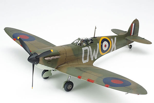 1:48 Scale Spitfire MK 1 Plane Model Kit #1439