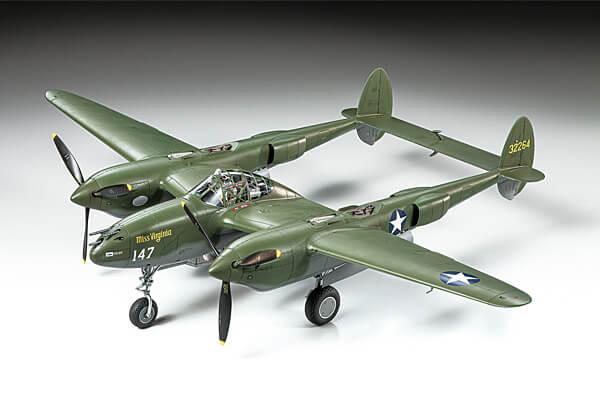 1:48 Scale Tamiya US-38 F/G Lightning Plane Model Kit #1440