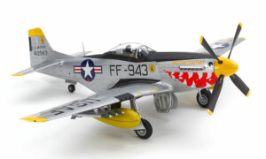 1:48 Scale Tamiya North American F-51D Mustang Korean War Plane Model Kit  #1432