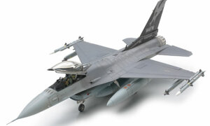 1:48 Scale Tamiya Lockheed Martin F-16C (Block 25/32) Plane Model Kit  #1436p