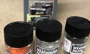 Mr Hobby Weathering Pastel Set2 For Creating extra depth to your model or diorama #