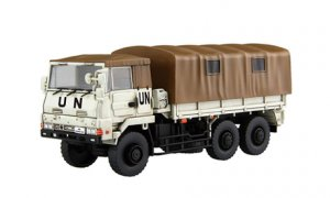 1:72 Scale Japanese JGSDF 3 1/2 Tonne Truck Model Kit #1378p