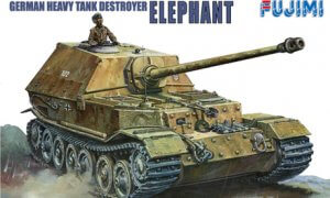 1:76 Scale German Elephant Destroyer Tank Model Kit  #1358p
