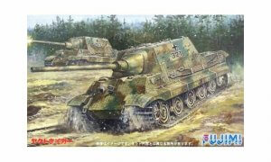 1:76 Scale German Heavy Tank Jagdtaiger Model Kit #1380p