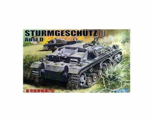 1:76 Scale German StuG III Ausf D Tank Model Kit  #