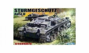 1:76 Scale Fujimi German Sturmgeschultz Stug III Tank Model Kit #1381p