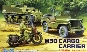 1:76 Scale Fujimi US M30 Cargo Carrier Vehicle Model Kit  #1383p