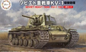 1:76 Scale Fujimi Soviet KV-1 Tank Model Kit  #1373p
