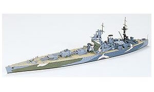 1:700 Scale Tamiya HMS Nelson Battleship Model Kit #1441
