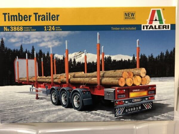 1:24 Scale Italeri US Wrecker Truck Model Kit #1455p