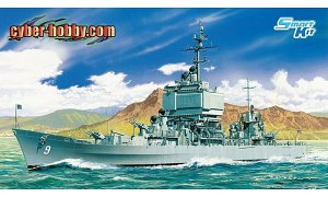1:700 Scale Dragon USS Long Beach CGN9 Ship Model Kit #1425