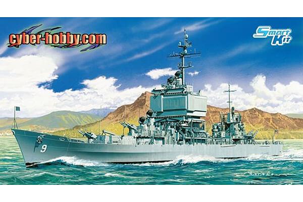 1:700 Scale Dragon USS Long Beach CGN9 Ship Model Kit #1425