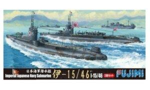 1:700 Scale Fujimi Imperial Japanese Navy I-15/46 Submarine Model Kit  #1364p