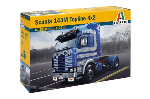1:24 Scale Italeri Scania 143M Topline Truck Model Kit  #1460P