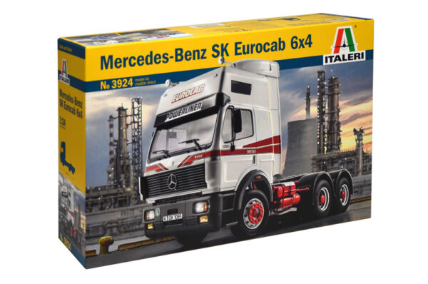 1:24 Scale Italeri Mercedes Benz SK Eurocab Truck Model Kit  #1451p