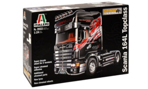 1:24 Scale Italeri Scania 164L Topclass Truck Model Kit  #1446p
