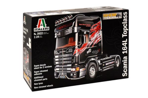 1:24 Scale Italeri Scania 164L Topclass Truck Model Kit  #1446p