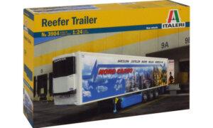 1:24 Scale Italeri Reefer Trailer Model Kit  #1491