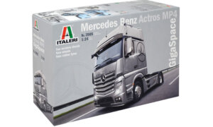 1:24 Scale Italeri Mercedes Benz Actros MP4 GigaSpace Truck Model Kit  #1458p