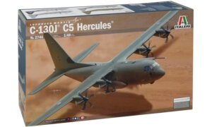 1:48 Scale Italeri RAF Hercules C130J C5 Plane Model Kit  #1403