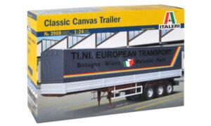 1:24 Scale Italeri Classic Canvas Trailer Model Kit  #1459p