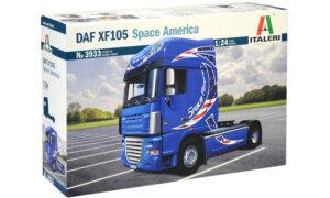 1:24 Scale Italeri DAF XF105 Truck Model Kit  #1492
