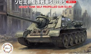 1:76 Scale Fujimi Soviet SU-85 Tank Model Kit  #1372p