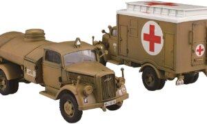 1:72 Scale Fujimi German 3 Tonne Rescue Box Truck Model Kit  #1366p