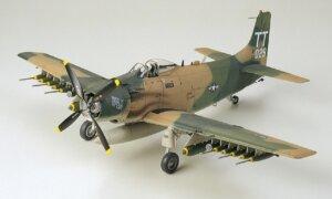 1:48 Scale Tamiya A-1J Skyraider U.S Air Force Model Kit  #1434p
