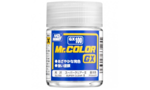 Mr Hobby Super Clear III Top Coat Lacquer Paint