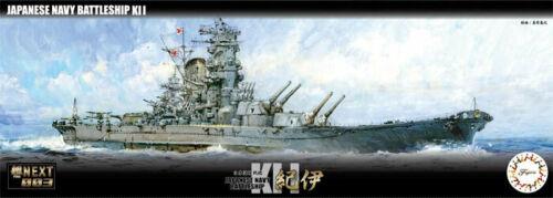 1:700 Scale Imperial Japanese Navy Kaii Battleship Model Kit  #1337