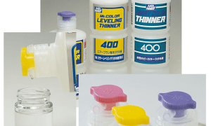 Mr Hobby Mr Spout Set for Thinners Bottles [ helps precise pouring ] #
