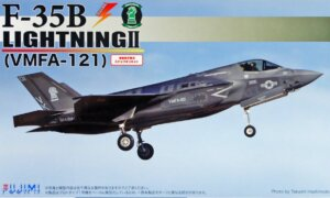 1:72 Scale Fujimi Special Edition F-35B Lightning II VMFA-121 Plane Model Kit  #1323