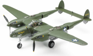 1:48 Scale Tamiya US-38 F/G Lightning Plane Model Kit #1440p