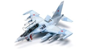 1:72 Scale Zvezda YAK 130 Plane Model Kit  #1421