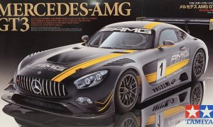 1:24 Scene Tamiya Mercedes SLS AMG GT3 Model Car Kit by Tamiya #1462p