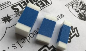 Tamiya Mini Polishing Sponge Set - For Polishing Your Model Kit #