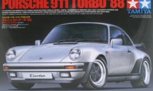 1:24 Scale Tamiya Porsche 911 Turbo 1988 Model Car Kit #1487p