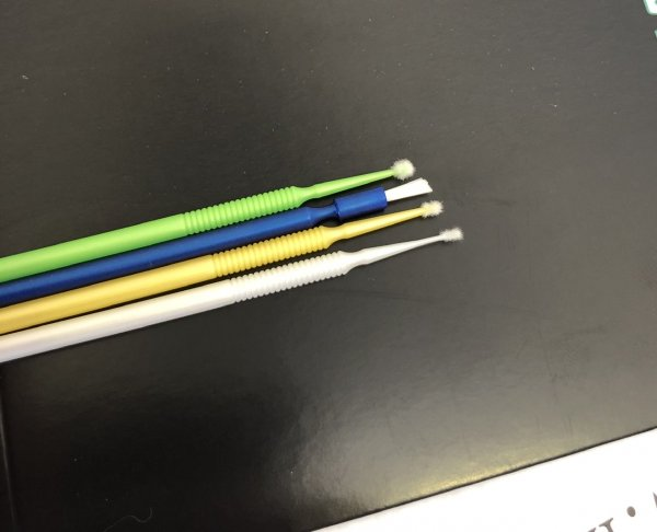 Albion Alloys Microbrush Applicators - 40 pack / 4x types of brush inside #2102