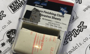 Albion Alloys Micro Finishing Cloth Sheets & Foam Pad Pack 4 Polishing Paintwork Etc *Amazing Check Desc* #2106