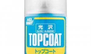 Mr Top Coat Gloss Spray Paint #