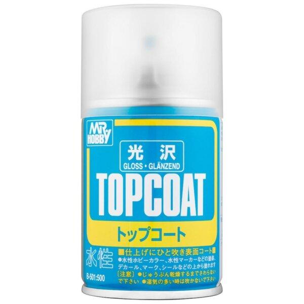 Mr Top Coat Gloss Spray Paint #