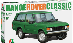 1:24 Scale Range Rover 1970's Model Car Kit #1466P