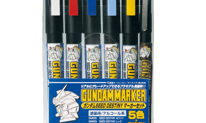 Mr Hobby Gundam Marker Paint Set - Seed Destiny Version #
